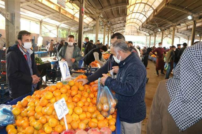 Havalar soğudu vitamin deposu meyvelere ilgi arttı