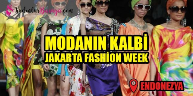 Modanın kalbi Jakarta Fashion Week'te attı