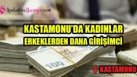Kastamonu'da kadınlar erkeklerden daha girişimci