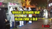Son dakika… Fatih'te korkunç olay! Aynı evde 2 kadın ve 2 erkek cesedi bulundu